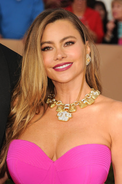 Sofia Vergara Busts Out Big Time At The SAG Awards