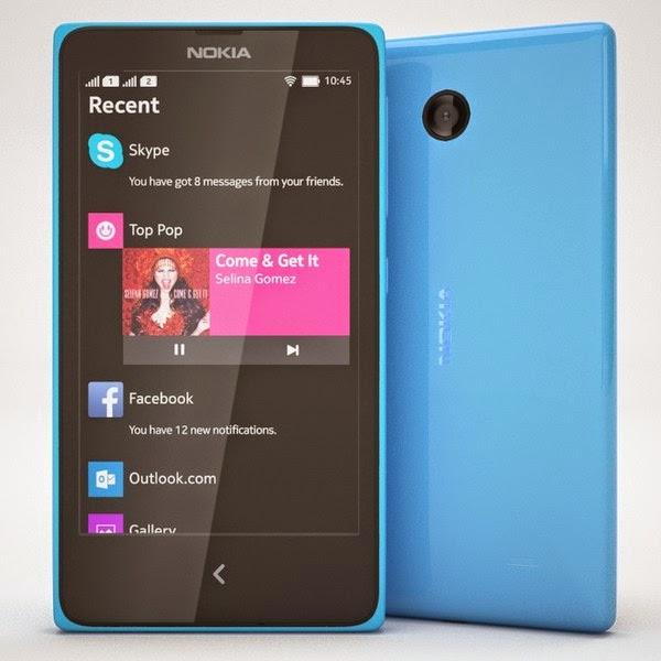 Nokia X - Blue