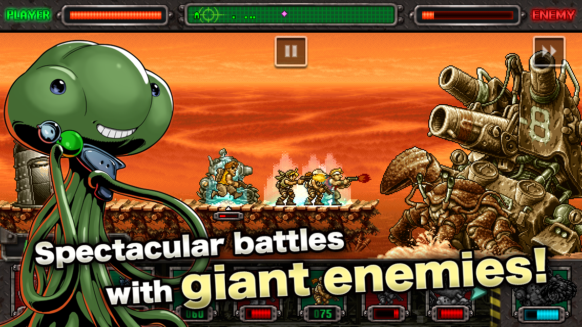 METAL SLUG DEFENSE Cephane Hilesi Apk