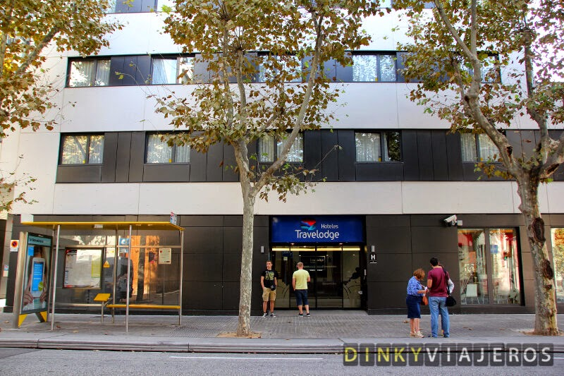 Hotel Travelodge Barcelona Poblenou. Exterior