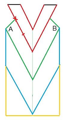Платье крючком узором зигзаг по диагонали для начинающих