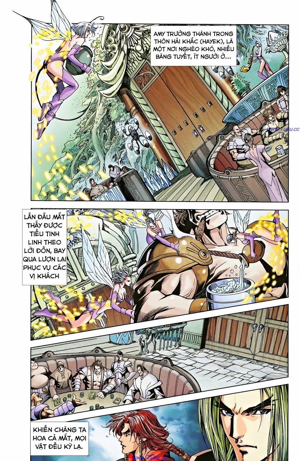 Dong Binh Thiên Hạ Chapter 1 - Trang 12