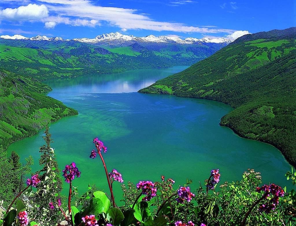 Kanas Lake, Xinjiang, China