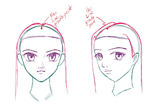 How To Draw Anime Hair Step 5