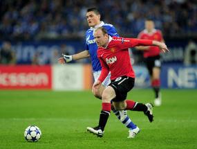 Hasil Schalke vs Manchester united