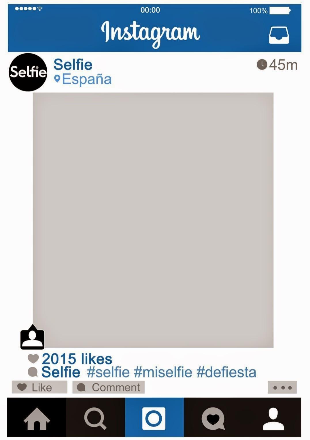 Asombroso Marcos Para Las Fotos De Instagram Motivo - Ideas ...