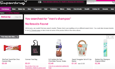 No Results on Superdrug