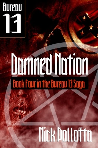 The crossover universe crossover covers damned nation for Bureau 13 stalking the night fantastic