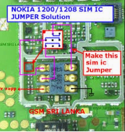 Nokia Mobile Repairing Jumper Phone Repairs And Solutions: Nokia 1209 Circuit Diagram Free Download At Imakadima.org