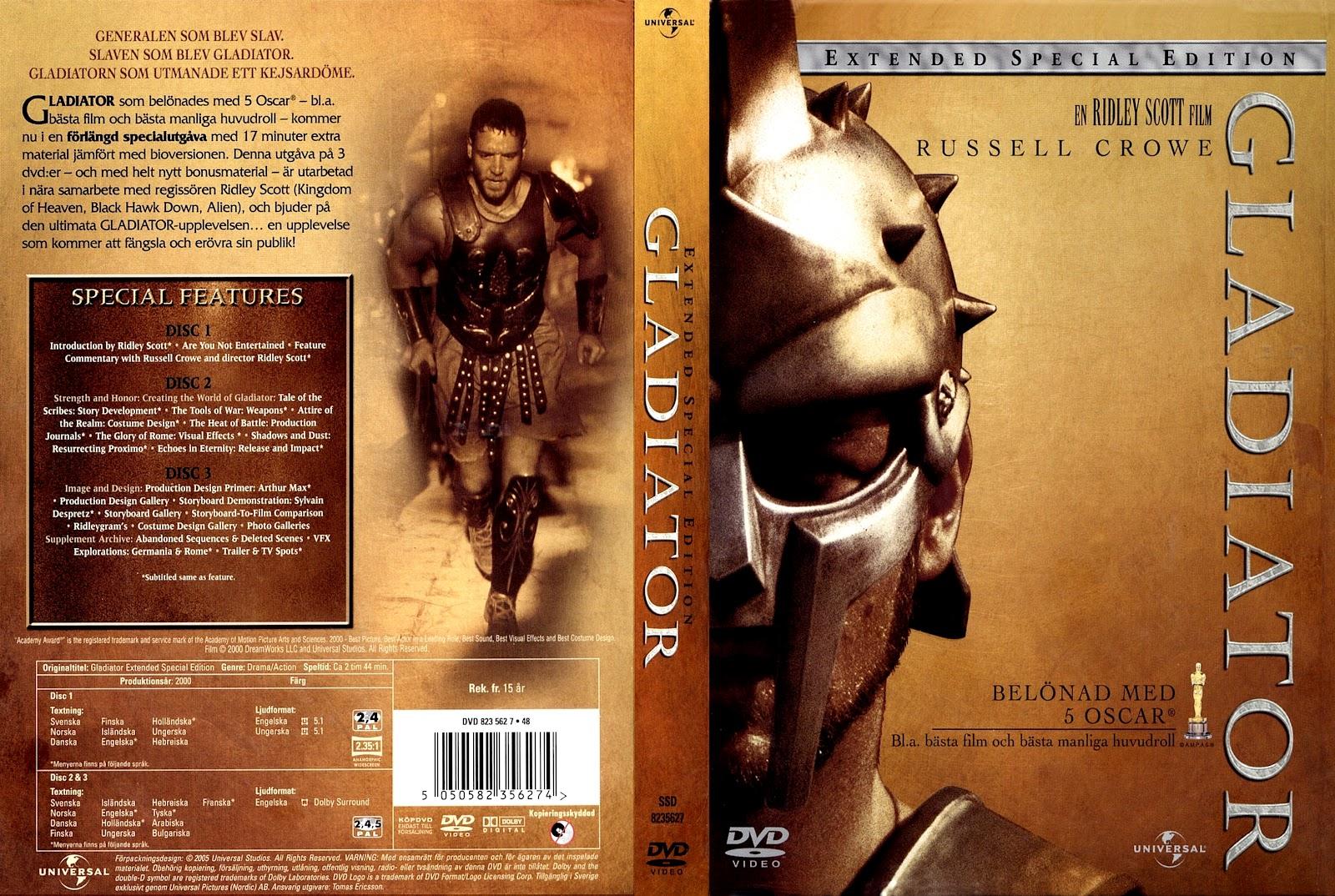 Gladiator Dvd Cover