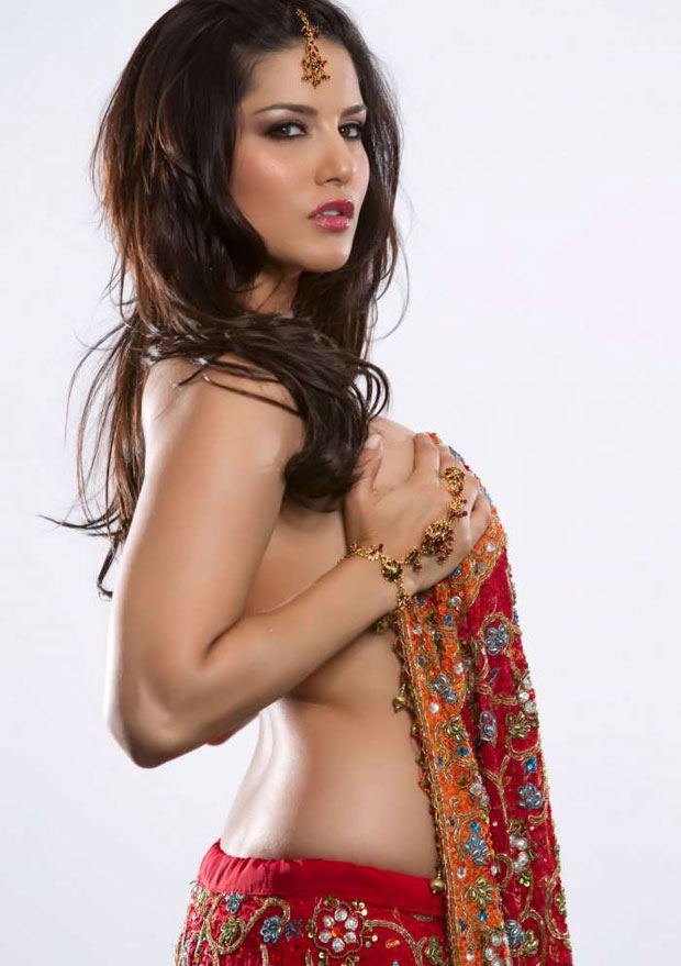 Sunny Leone As Hot Indian Wife