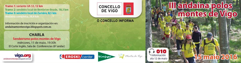 IIIª Andaina polos montes de Vigo
