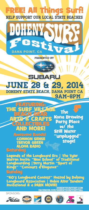 Doheny Surf Festival, Dana Point, CA