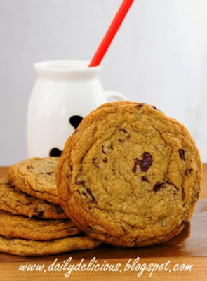 Chocolate Chunk And Chips Cookies
