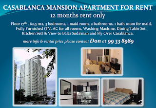 apartemen Casablanca Mansion jakarta selatan