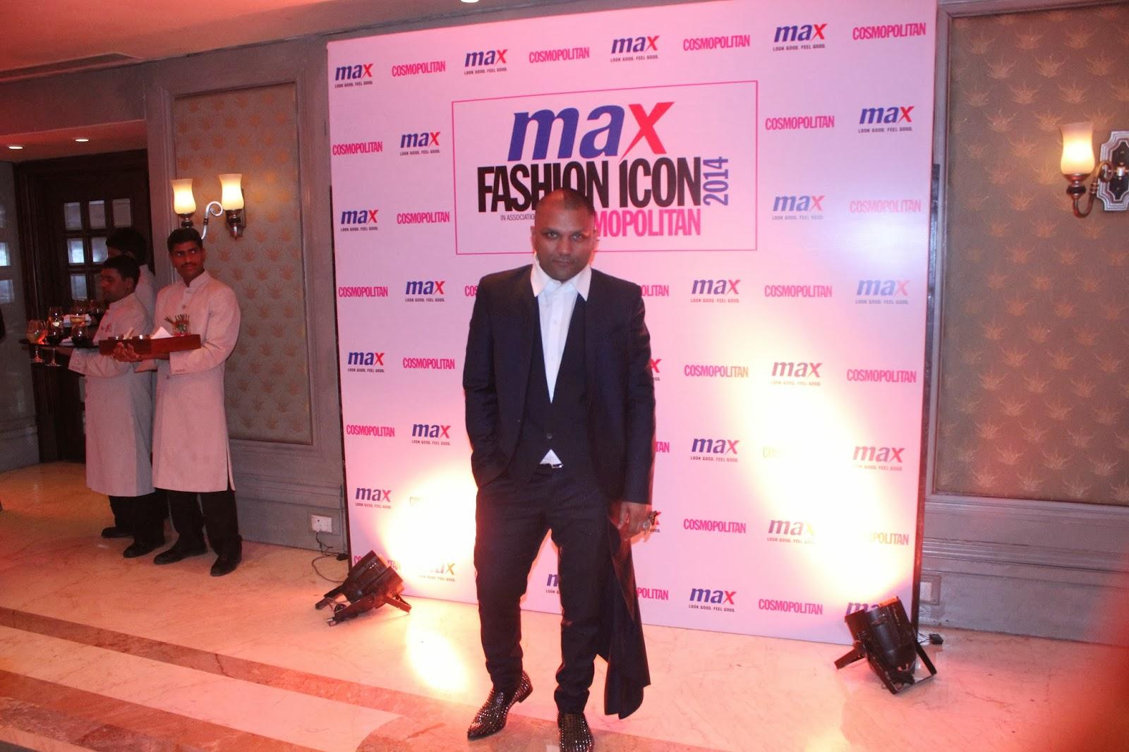 Gaurav Gupta - MAX Fashion Icon 2014 In Collaboration  With Cosmopolitan Magazine Grand Finale - All Pictures, Uncut Version