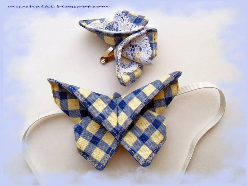галстук бабочка своими руками