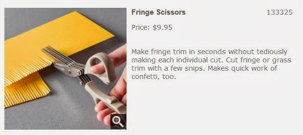 Fringe Scissors used to make the alligator eyelashes