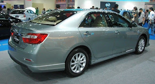 new toyota camry 2012 side view