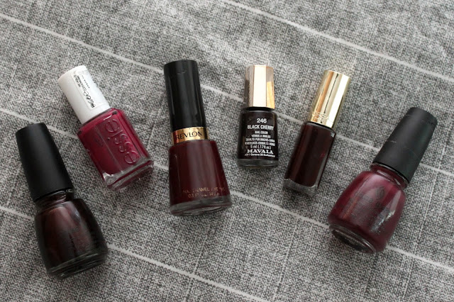 TOP 6 MAROON NAIL POLISHES