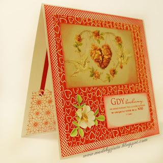 scrapbooking kartki na walentynki card making kartki okolicznościowe