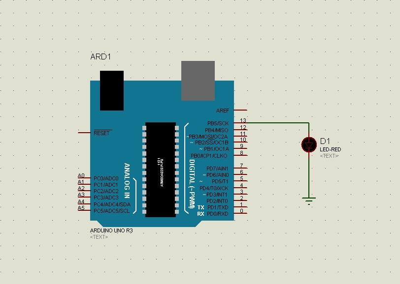 Electronics note arduino proteus isis simulation