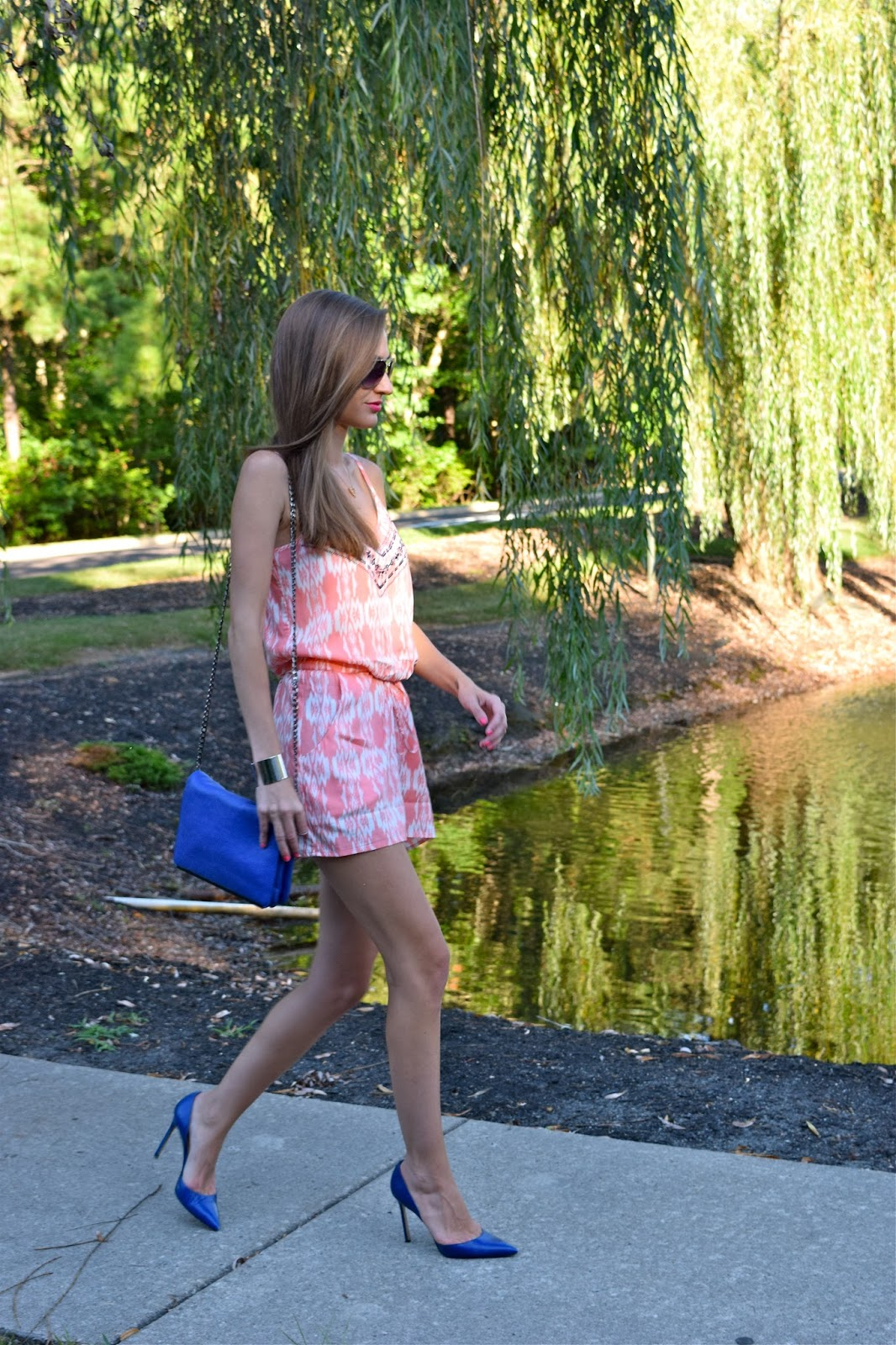 Back to school with Trixxi Girl. Society Girl Nordstrom Romper, Monolo Blahniks