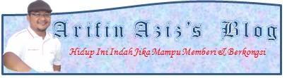 Arifin Aziz'Blog