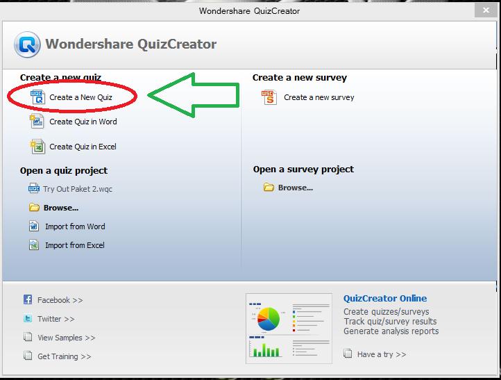 cara membuat soal dengan aplikasi quiz creator