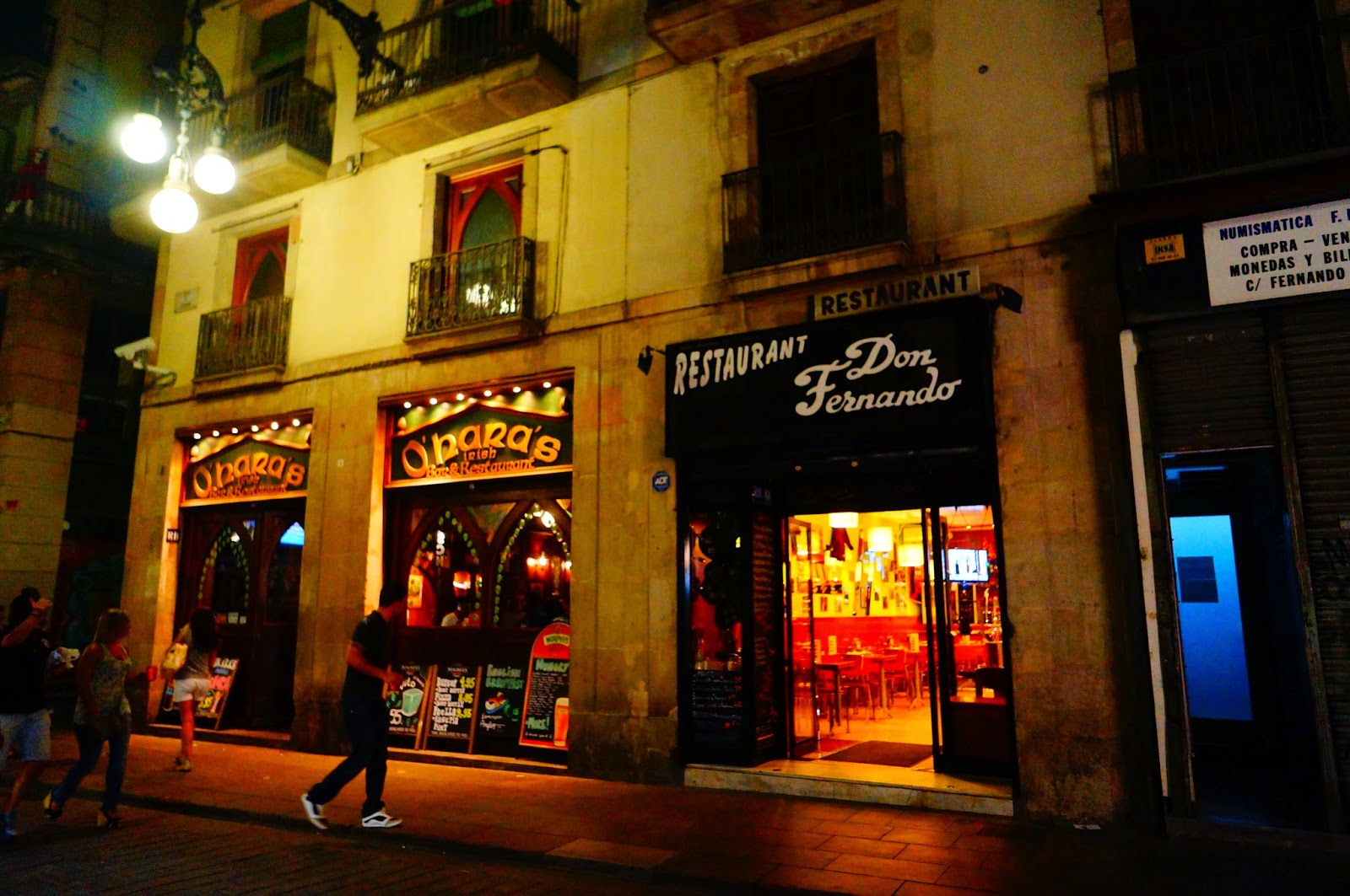 Рестораны-Барселоны
