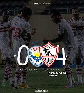 أهداف المباراة | الزمالك 4-0 النصر| الدوري المصري 2015/2014 | الأسبوع 38
