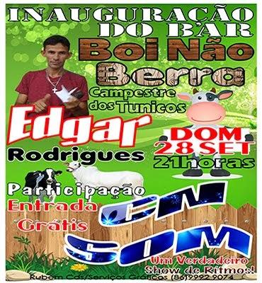 Inauguração do Bar Boi Não Berra dia 28/09