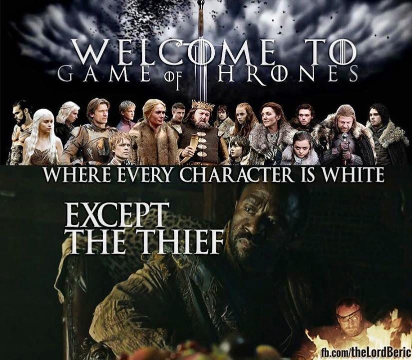 #GameOfThrones Is Racist Meme