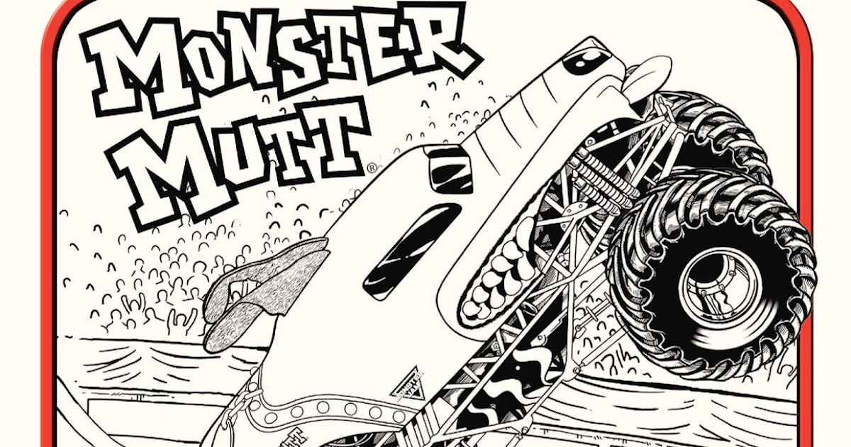 Monster jam grave digger bing images for Monster jam coloring pages