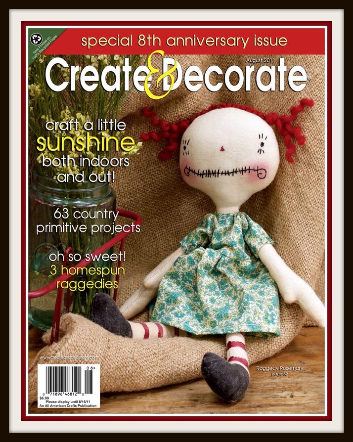 Prairie flower farm create and decorate magazine and me for Create and decorate magazine free