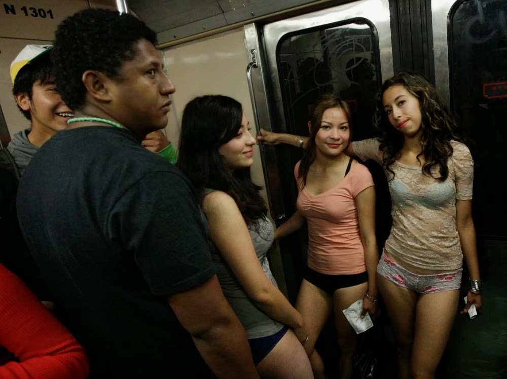 Babes on On The Subway