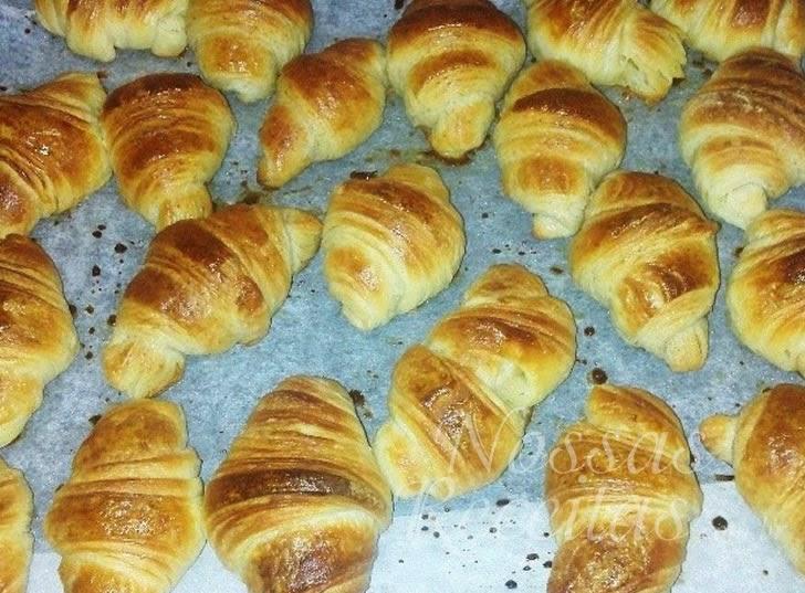 Receita de salgadinho folhado croissant