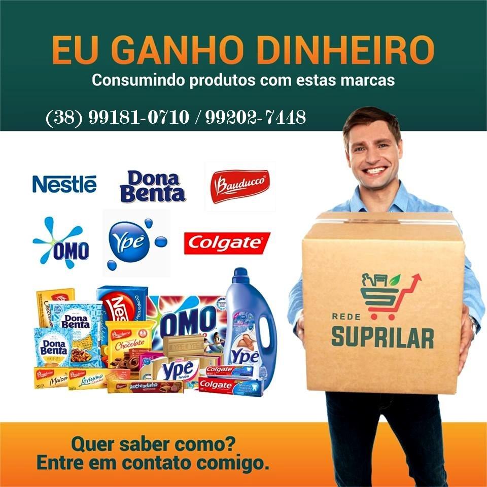 Você consome e GANHA DINHEIRO