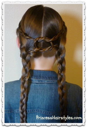 """Equestrian Braids"" Hairstyle Tutorial"