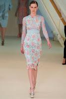 Дантелена рокля молив Erdem пролет-лято 2013