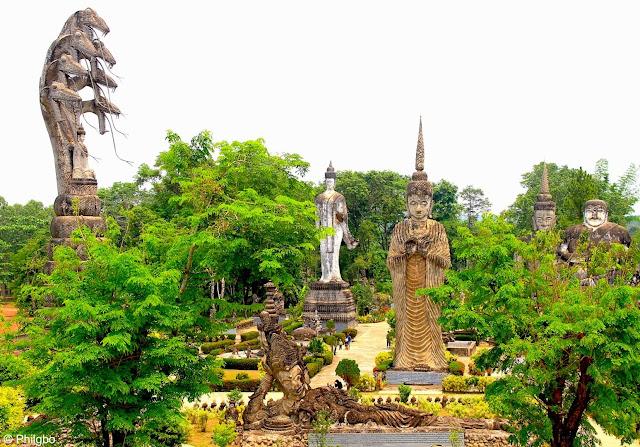 Buddha Park in Nong Khai
