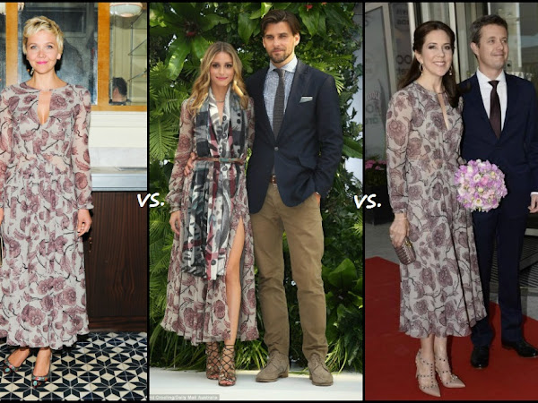 Maggie Gyllenhaal vs Olivia Palermo vs Crown Princess Mary of Denmark