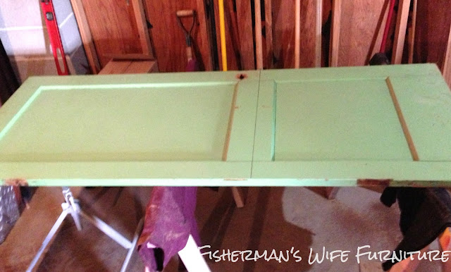 DIY door coffee table tutorial, fisherman's wife furniture, projects