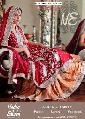 Bridal Fashion Wear by Nadia Ellahi