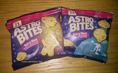 Nairn's Astro Bites biscuits