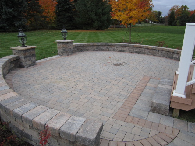 We Completed This Brick Paver Sealing Of A Paver Patio In Ann Arbor This  Past Week. This Paver Patio Was Installed By Another Brick Paver Contractor  Only A ...