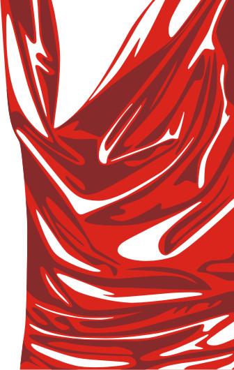 Tutorial Vector Membuat Drapery Kain Baju | Menggambar Vektor