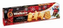 WalkersShortbread Festive Shapes Cookies package