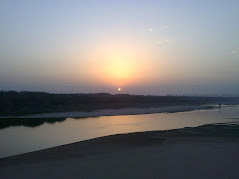 Sunset over Chambal River