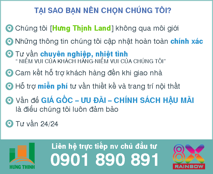 Vị trí Căn Hộ 8x Rainbow Bình Tân có gì đáng chọn mua?